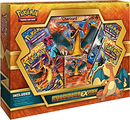 30334fd303cc53 Amazon.com: Pokemon Charizard Ex Box TCG Boosters (Discontinued by  manufacturer): Toys & Games