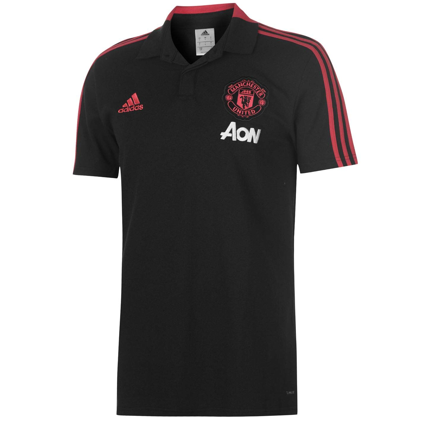 Adidas Herren Manchester United Cotton Polo Poloshirt
