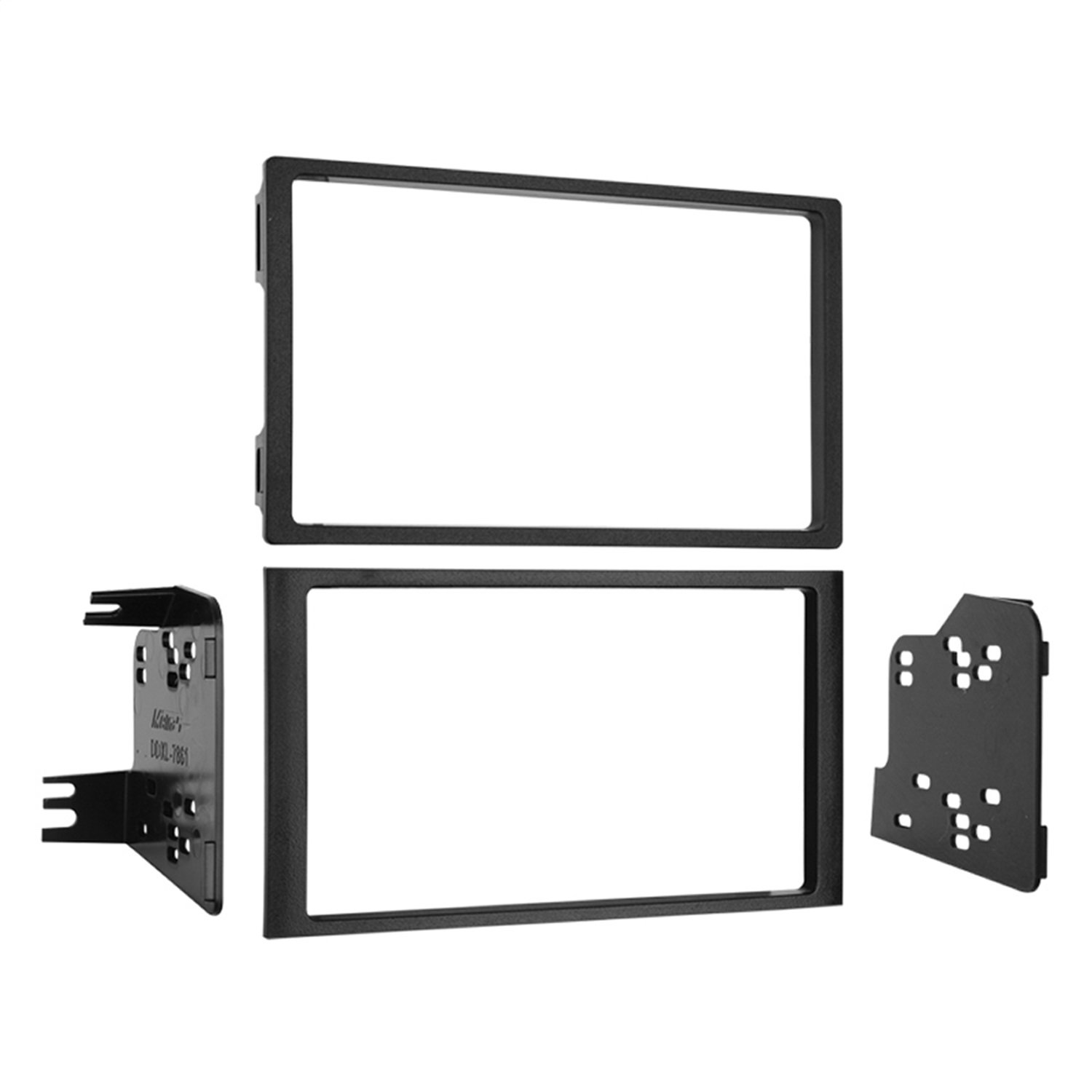 Metra 95-7861 Double DIN Installation Dash Kit for 2003-2008 Honda Pilot