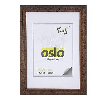 Gut gemocht Amazon.de: OSLO MasterLine Bilderrahmen 21x30 exakt 21x29, 7 DIN WA45