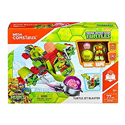 Mega Construx Teenage Mutant Ninja Turtles Turtles Launcher Building Set: Toys & Games