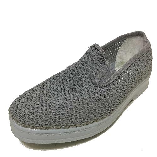 mejores zapatillas de deporte 2b070 f53d0 Zapatilla Verano Hombre Rejilla Elasticos en Color GIRS (40 ...