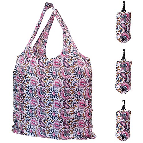HOLYLUCK Reusable Grocery Foldable Shopping