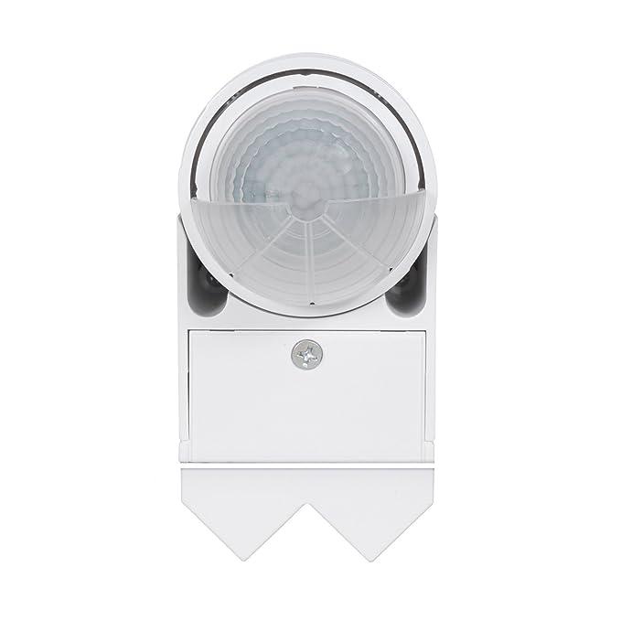 Sensor de movimiento infrarrojo pir moderno Maclean Energy MCE202 12m 360 °, ahorro de energía: Amazon.es: Bricolaje y herramientas