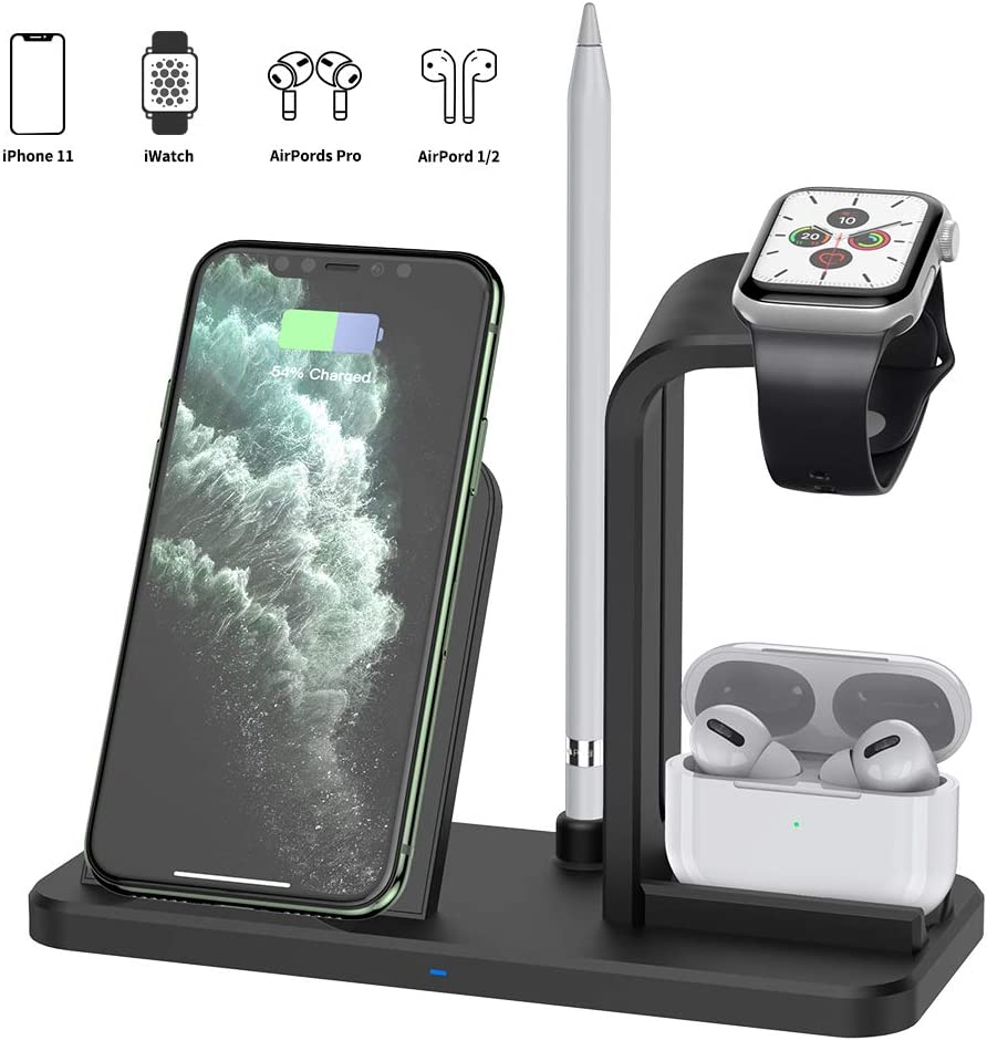 GPED 3 in 1 Detachable Fast Wireless Charging Station
