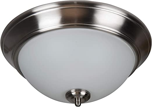 15 W x 7 H 3-Light 180 Watts White Craftmade XP15W-3W Pro Builder Flush Mount Ceiling Lighting