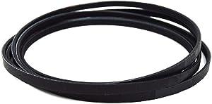 341241 Dryer Drum Belt for Whirlpool, Admiral, Maytag, Kenmore, Sears, Roper, Inglis