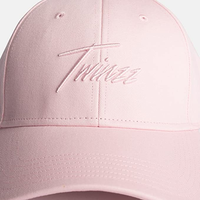 d14146be3 Twinzz Lightning Script Pitcher Cap Baby Pink-One Size: Amazon.co.uk ...