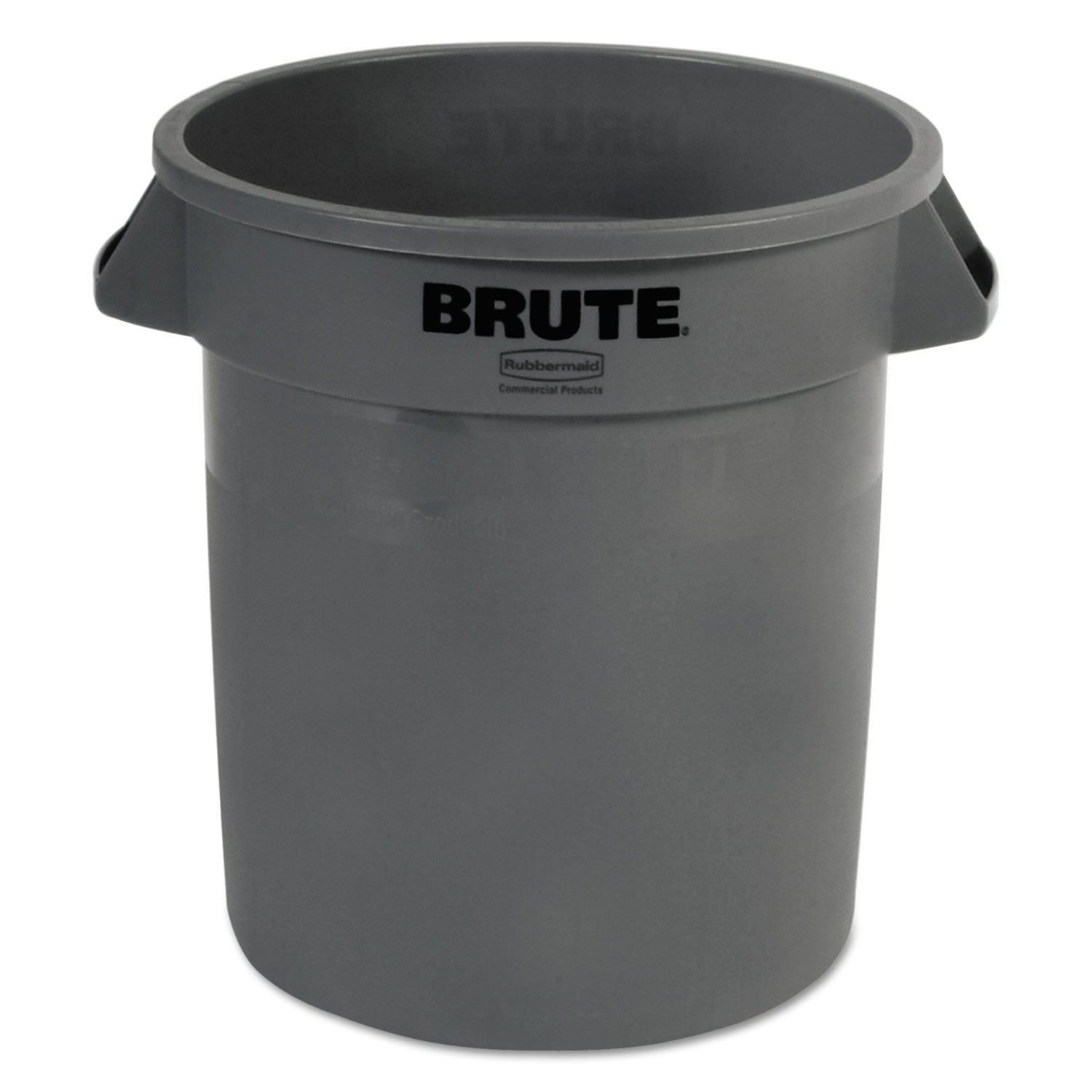 Container Brute Gray 10 Gallon, Each, Rubbermaid Commercial Waste Receptacle