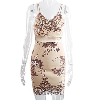 Hexu elegante malha sequin dress NEW sexy v neck backless partido bodycon vestido mulheres de slim