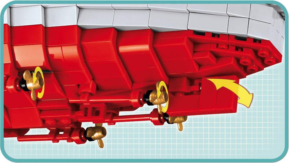 red Grey COBI 4811 Construction Toys