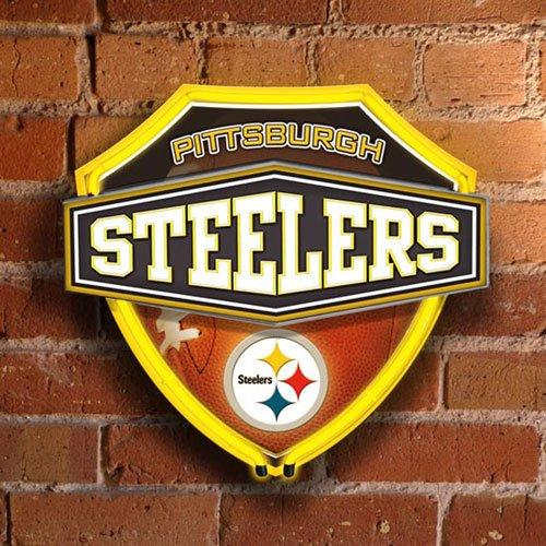 - Pittsburgh Steelers Team Neon Wall or Window Lamp NFL Football Fan Shop Sports Team Merchandise