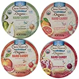 Torie & Howard Organic Hard Candy 4 Flavor Variety Bundle: (1) Blood Orange & Honey, (1) Pomegranate & Nectarine, (1) Pink Grapefruit & Tupelo Honey, and (1) D'anjou Pear & Cinnamon, 2 Oz. Ea (4 Tins Total) Reviews