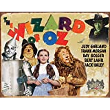 Wizard of Oz 70th Anniversary Retro Distressed Tin Sign (1562) , 16x12