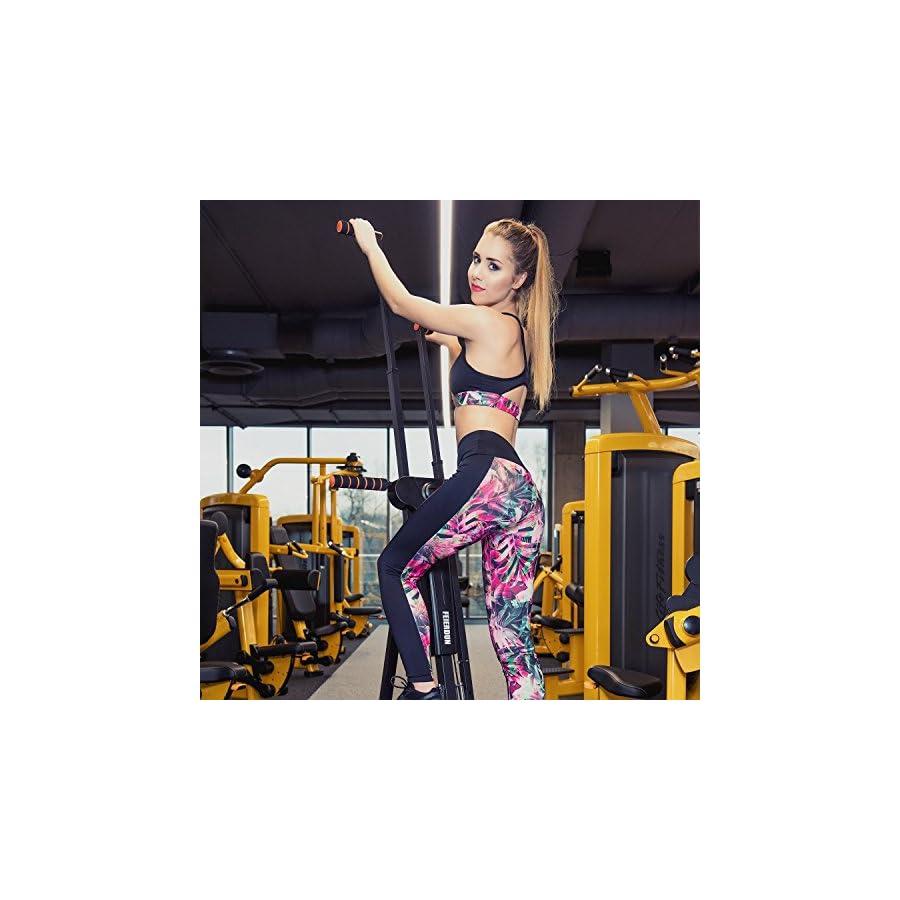 FEIERDUN Vertical Climber, Climbing Machine Full Total Body Workout Fitness Folding Cardio Climber Exercise Machine (C03)