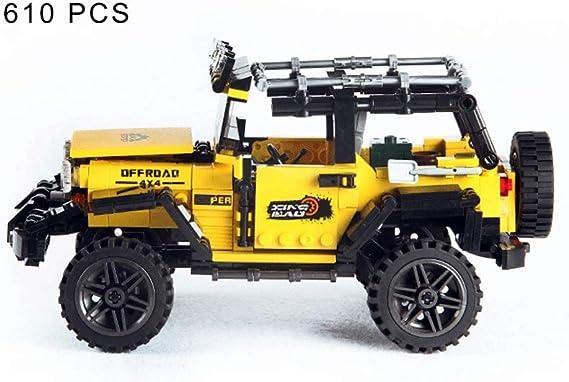 Jeep Moc Off Road Vehicle Building Blocks Car Series 610 pcs Toys For Kids