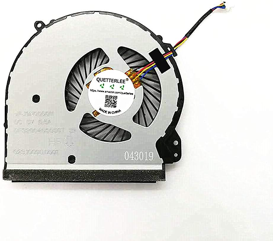 QUETTERLEE Replacement New CPU Cooling Fan for HP Home 17-X 17-Y 17-AC 17-BS TPN-M121 17-BS017CY 17-BS153CL 17-X012CY 17-X061NR 17-X000 17-Y012NR 17-Y020WM Series 926724-001 DFS200405050T FJGN Fan
