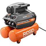 RIDGID 200 psi 4.5 Gal. Electric Quiet Compressor (Orange)