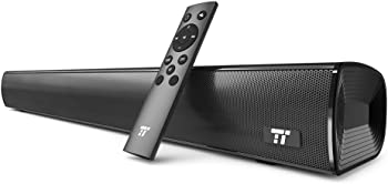 TaoTronics Sound Bar Wired and Wireless Bluetooth Audio Speakers