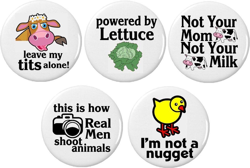 Amazon Set 5 Vegan Dont Eat Animals Life Quotes 225 Large