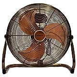 MP Essentials Daewoo Branded 18' (45 cm) High Velocity Air Circulator Floor Fan (Copper)