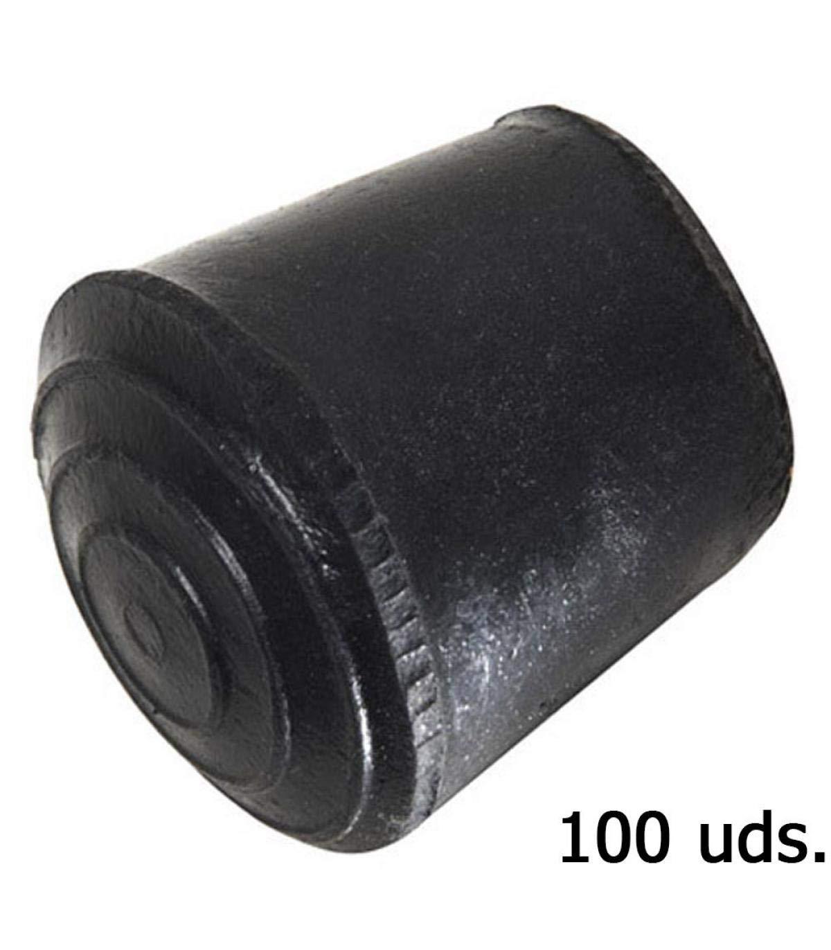 Goma, 12 mm Wolfpack 5330080 Pack de 100 conteras c/ónicas