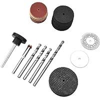 Kit de accesorios para herramientas rotativas, 78 piezas