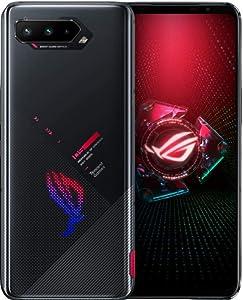 Asus ROG Phone 5 ZS673KS / I005DA 5G Dual 256GB 12GB RAM Factory Unlocked (GSM Only | No CDMA - not Compatible with Verizon/Sprint) Tencent Games Google Play Installed - Phantom Black