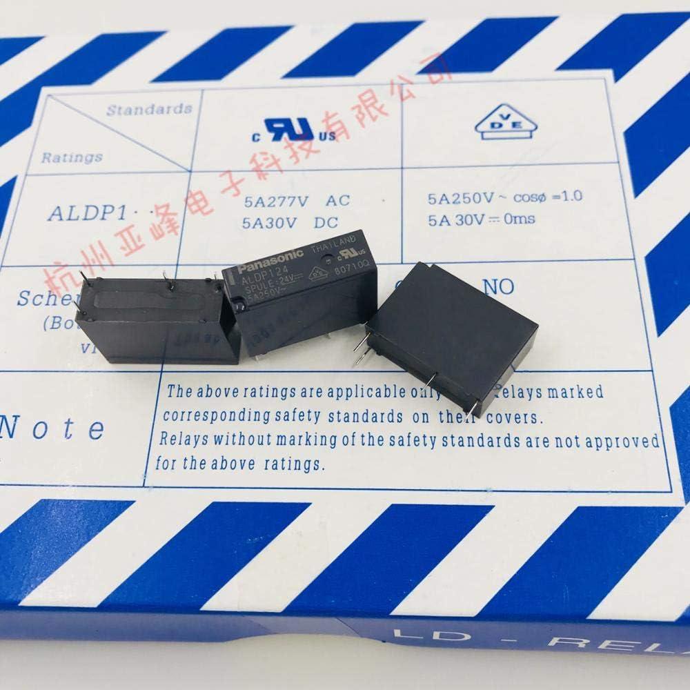 Miwaimao 5 PZ//LOTTO Rel/è ALDP124 ALDP124W 24V 5A 250V DIP4 Nuovo e