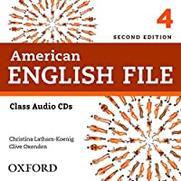 American English File - Level 4 - Class Audio CD - 2ª Ed. 2013