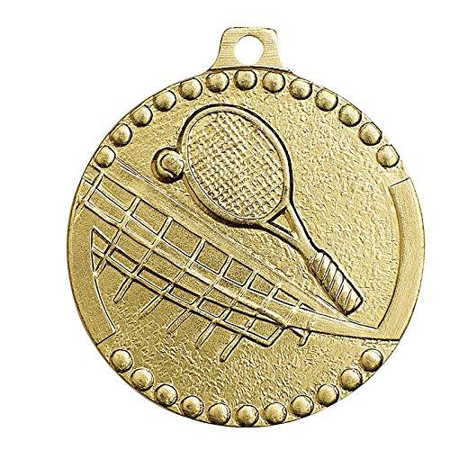 Lot de 10 Troph/ée Sportif Medaille Tennis 32MM