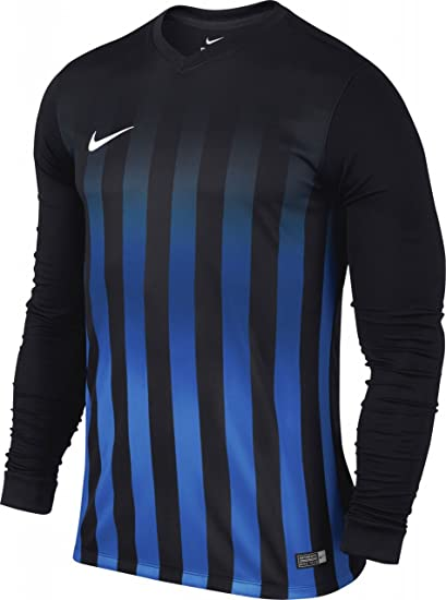 Nike lS Striped Division II JSY – T Shirt pour Homme