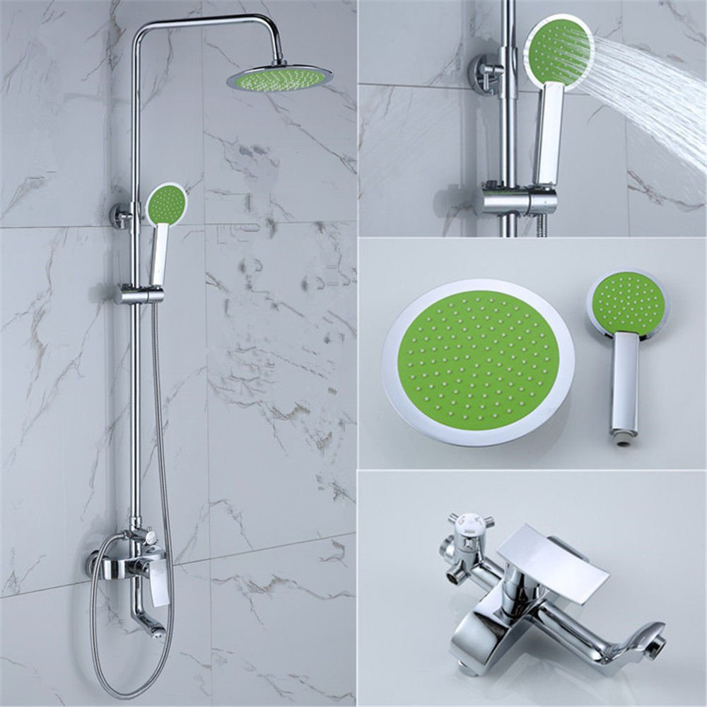 NewBorn Faucet Water Taps Hot And Cold Water Hotels Bath-Shower To Lift Copper Shower Water Tap Kit