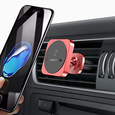 Car Phone Mount Magnetic Cell Phone Car Mount Vent Dashboard 360° Rotation Car Phone Holder Dashboard for iPhone SE 11 Pro XS Max XR X 8 Plus Samsung Galaxy S20 Note10 S10 S10e & All Phones,Silver