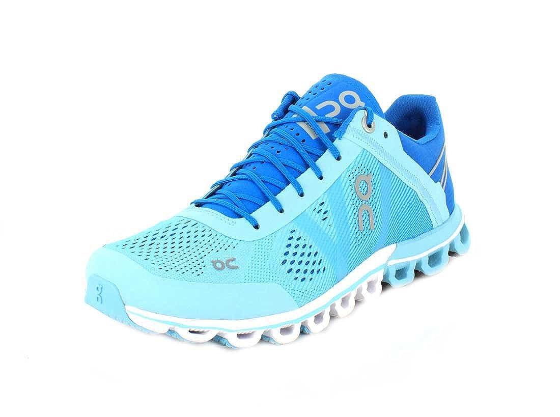 On Women s Running Cloud Sneaker, Blue Haze – 10 B M US