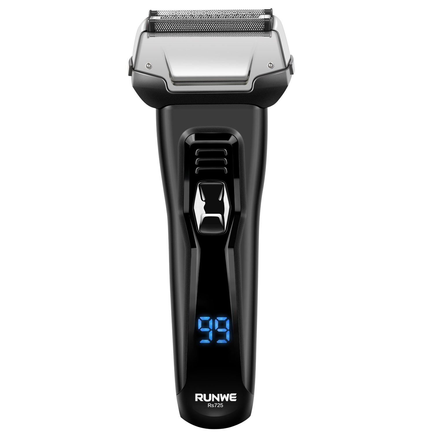 Runwe RS725 Wet & Dry Foil Shaver Rechargeable Electric Razor IPX6 Waterproof for Men