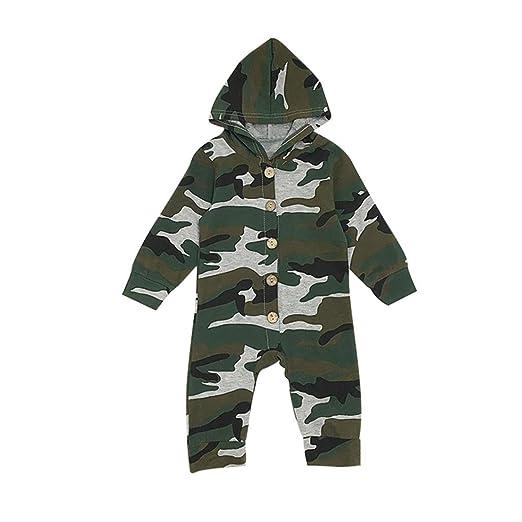 bc753e2463a8 Amazon.com  DIGOOD Toddler Baby Boys Girls Long Sleeve Camouflage ...