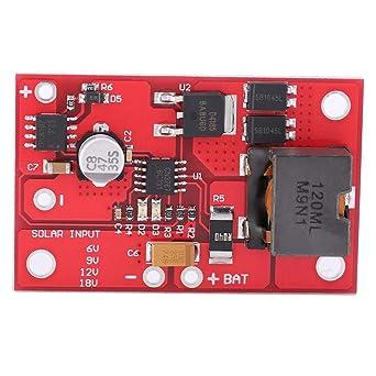 Akozon MPPT Solar Controller 12V 3A Módulo de carga del ...