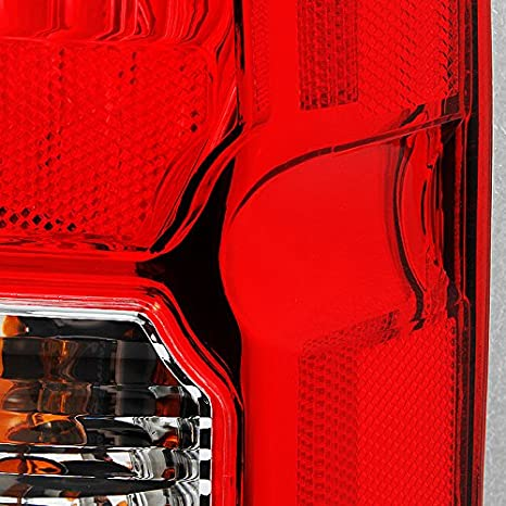Fits Pathfinder SUV Red Clear Tail Light Brake Lamp Brake Lights Passenger Right Side Replacement