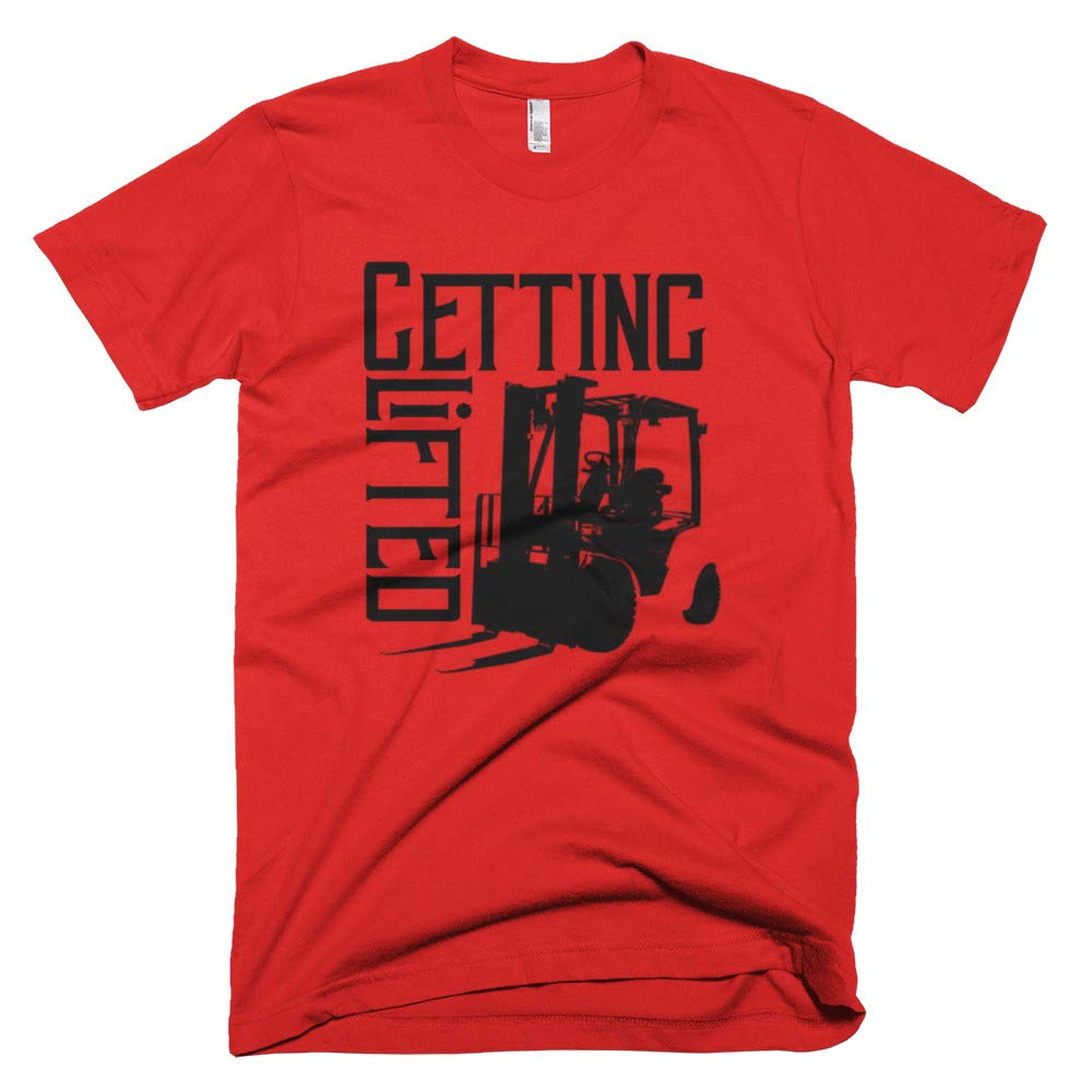 B Canna Lifted Forklift T-Shirt