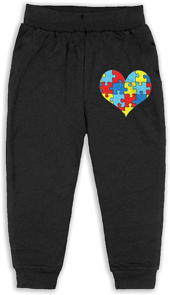 Udyi/&Jln-97 Autism Awareness Puzzle Heart Kids /& Toddler Sweatpants Soft Cozy Girls Boys Jersey Pant