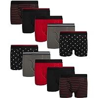 Only Boys Cotton Boxer Briefs Underwear (10 Pack)