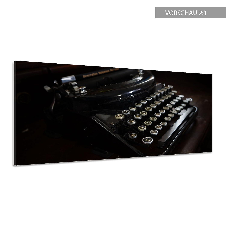 EHE malige Antigua Máquina de escribir retro vintage lienzo Póster Impresión de vv2772, lona, 140 x 70: Amazon.es: Hogar