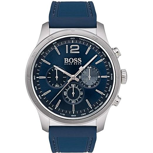 936a7d596a3d Hugo Boss 1513526 - Reloj de Pulsera para Hombre (Correa de Silicona ...