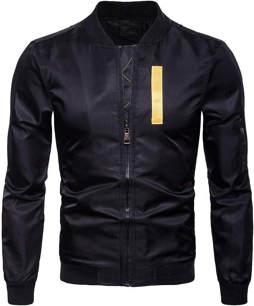 Autumn Winner Long Sleeve Solid Color Sweatshirt Top Tee Blouse Jacket Coat for Men