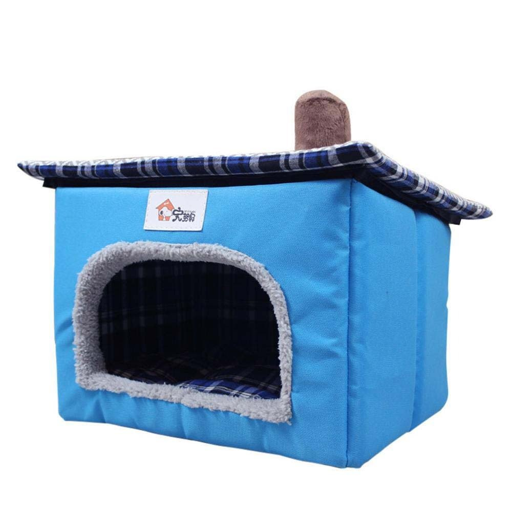 Weiwei Suministros Perro Nido Peluche yurtas Tienda casetas para Mascotas Gato Nido casa para Animales: Amazon.es: Hogar