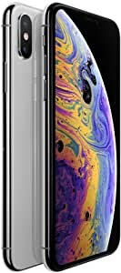 Apple iPhone Xs Silver 256GB SIM-Free Smartphone (Renewed)