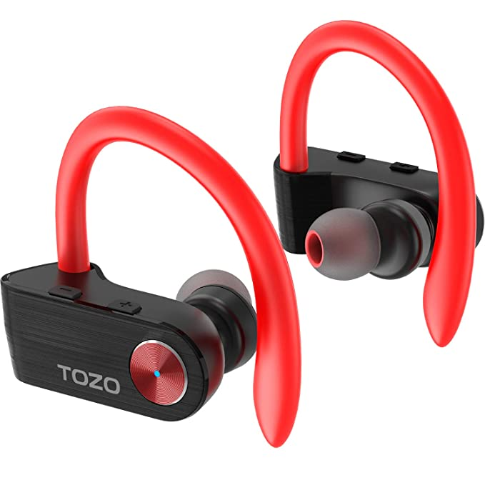 211eab36766 TOZO T5 TWS Bluetooth Headphones, True Wireless Stereo Sport Earphones with  Mic, HD Sound