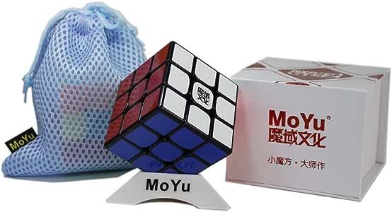 OJIN MoYu WEILONG GTS 2 WEILONG GTS Plus 3x3x3 Speed Cube Puzzle Sticker Puzzle Teaser Twist Puzzle Toys con una Bolsa de Cubo y un trípode Cube (Negro): Amazon.es: Juguetes y juegos