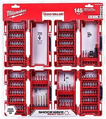 Milwaukee 48-32-4408 26 pièces Shockwave Impact Drive Et Bit Set